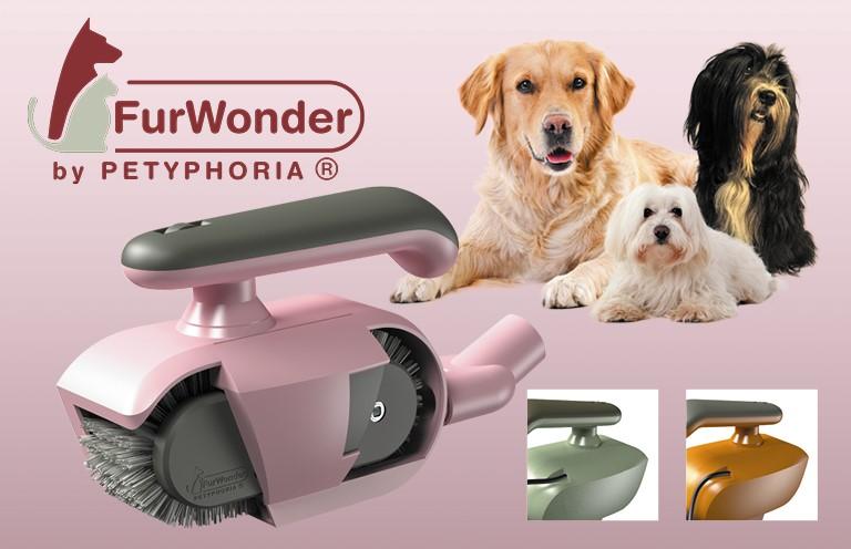 FurWonder – die elektrisch betriebene Hundebürste zur schonenden Fellpflege
