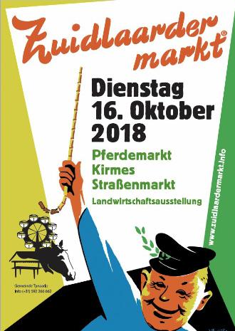 Zuidlaardermarkt am 16. Oktober 2018