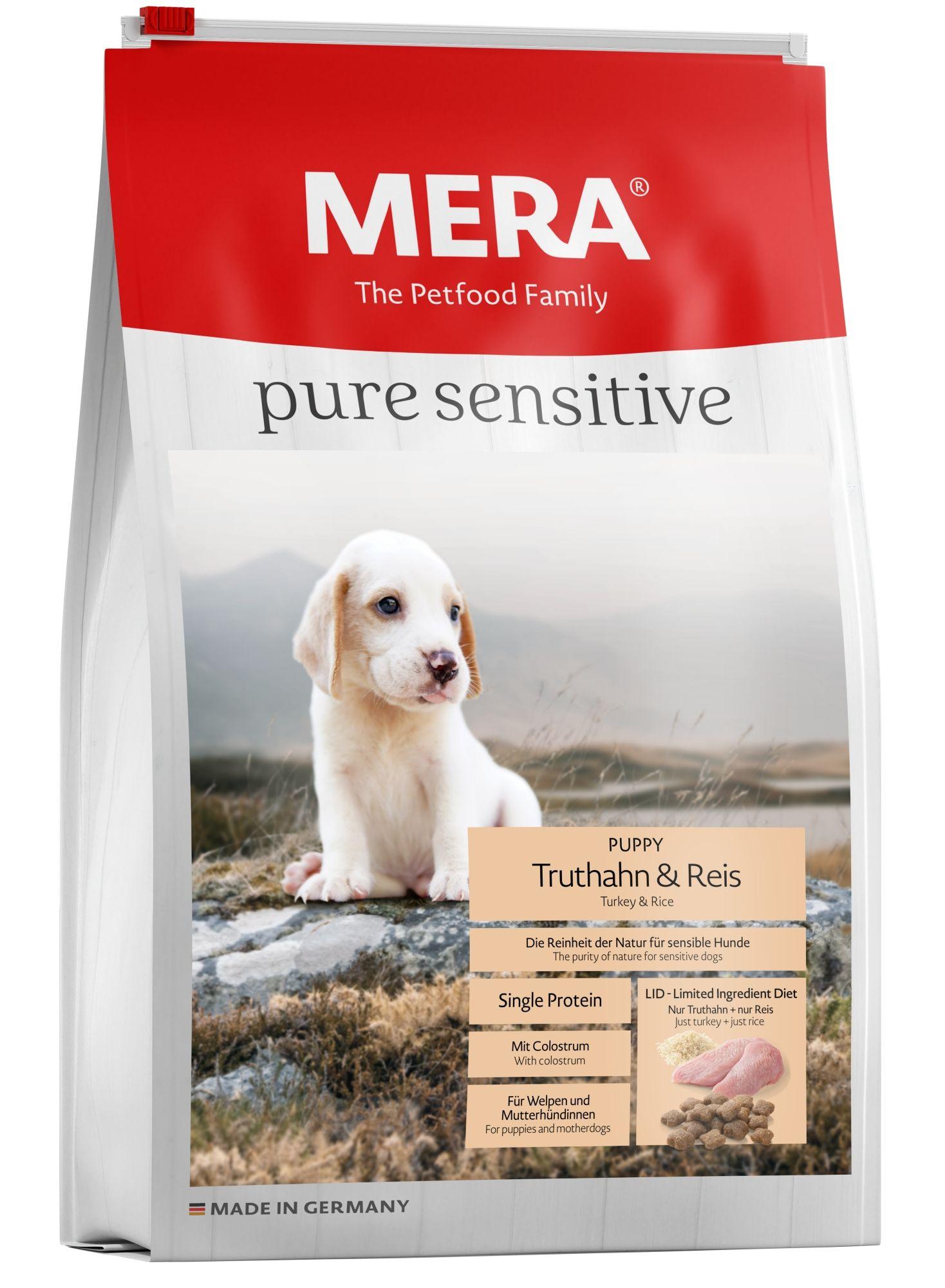 MERA pure sensitive Puppy für einen guten Start ins Hundeleben