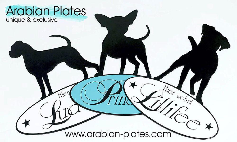 Weihnachtsmarkt - Die neuen Hunde Motive - Reliefs von Arabian Plates