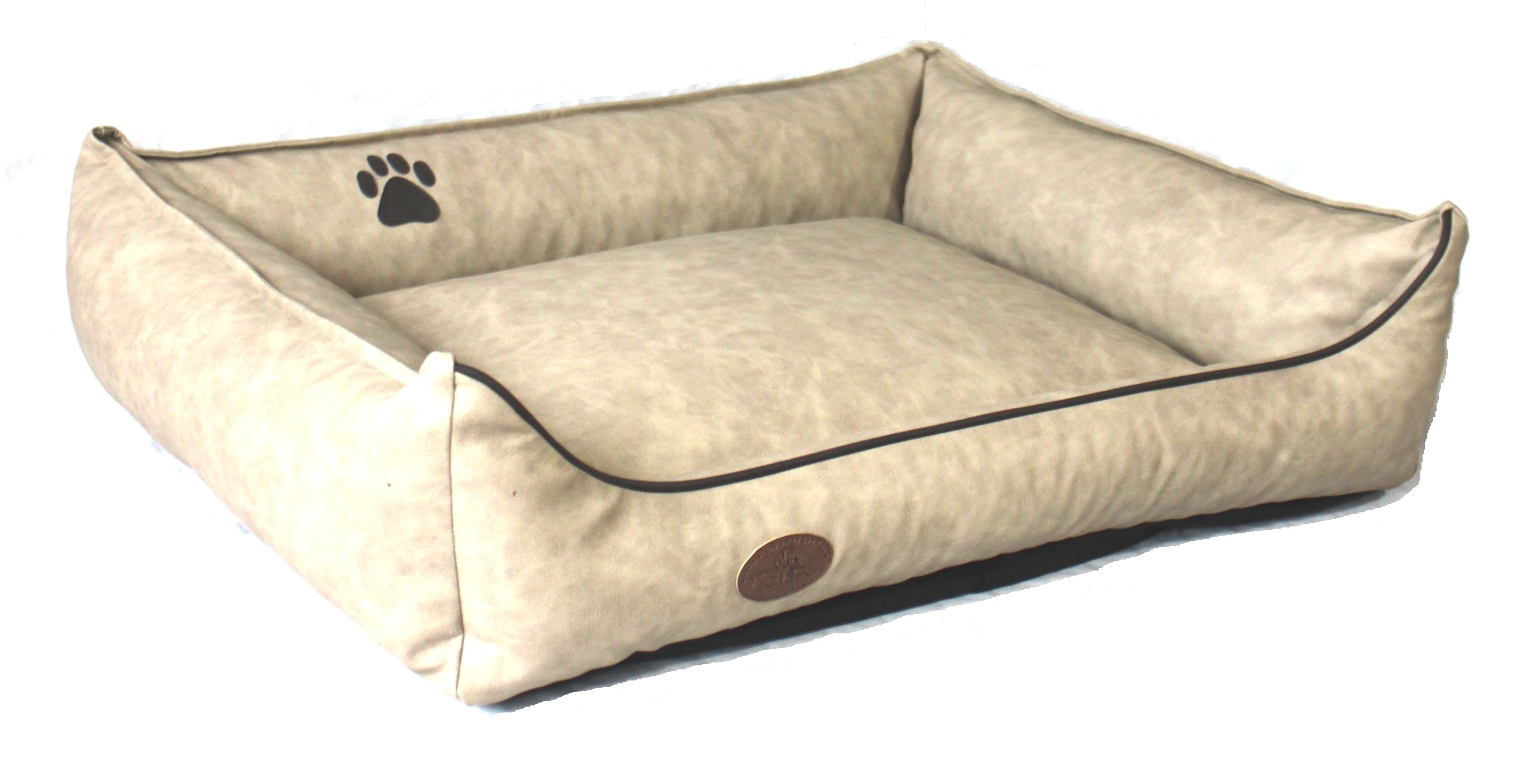 Hundebett SHADOW mit Kunstlederbezug aus Steinis-Petshop