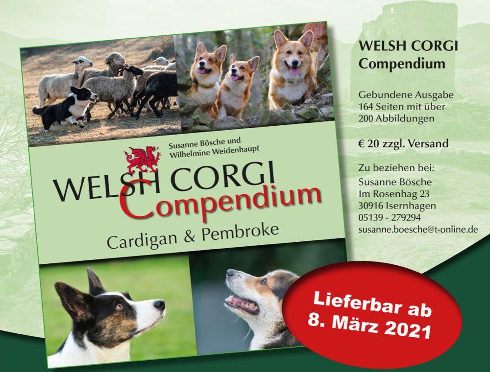 Endlich ein deutschsprachiges Buch über Welsh Corgi Cardigans und Pembrokes