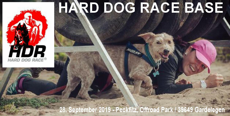 HARD DOG RACE BASE   - Der Hindernislauf mit Hund - Erstmals am 28.September 2019 im Offroad Park Peckfitz
