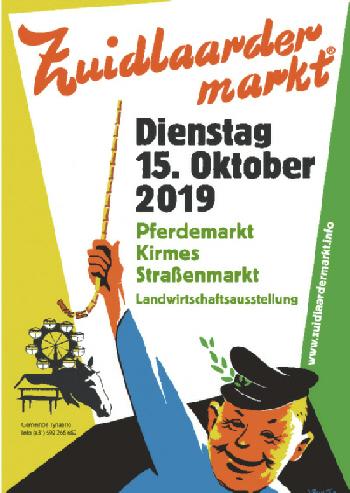 Zuidlaardermarkt am 15. Oktober 2019 - Ein Markt mit Pferdestärken!